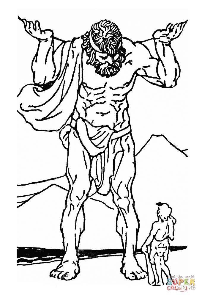 Heracles coloring #2, Download drawings