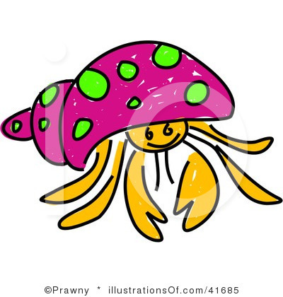 Hermit Crab clipart #3, Download drawings