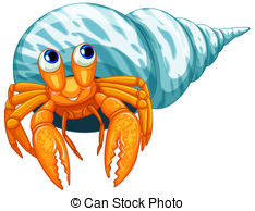 Hermit Crab clipart #1, Download drawings