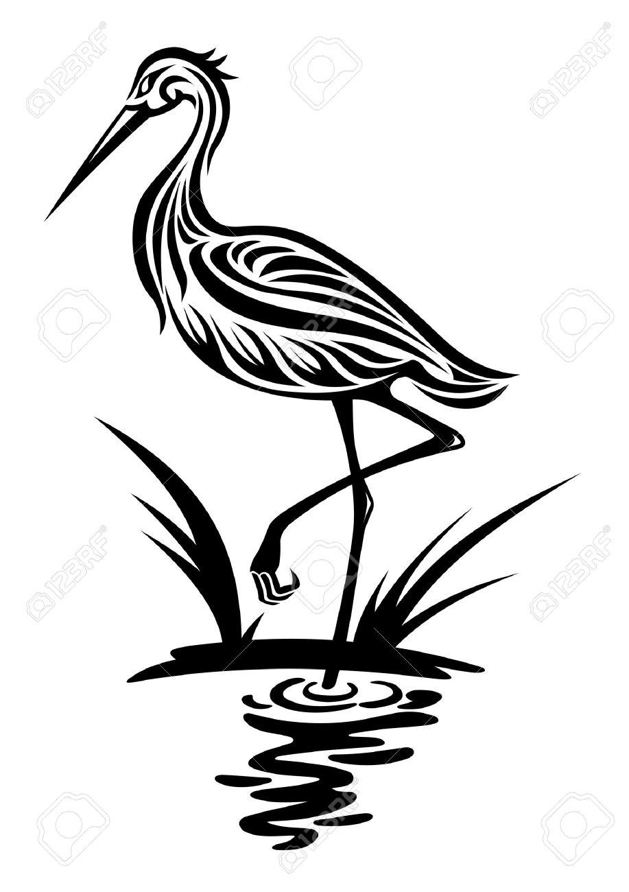 Heron clipart #18, Download drawings