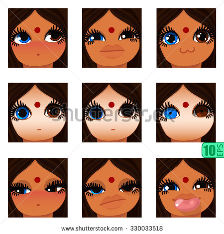 Heterochromia clipart #12, Download drawings