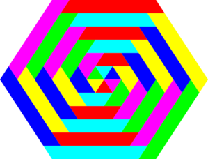 Hexagon clipart #10, Download drawings