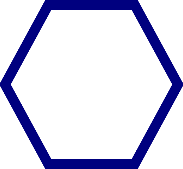 Hexagon clipart #16, Download drawings