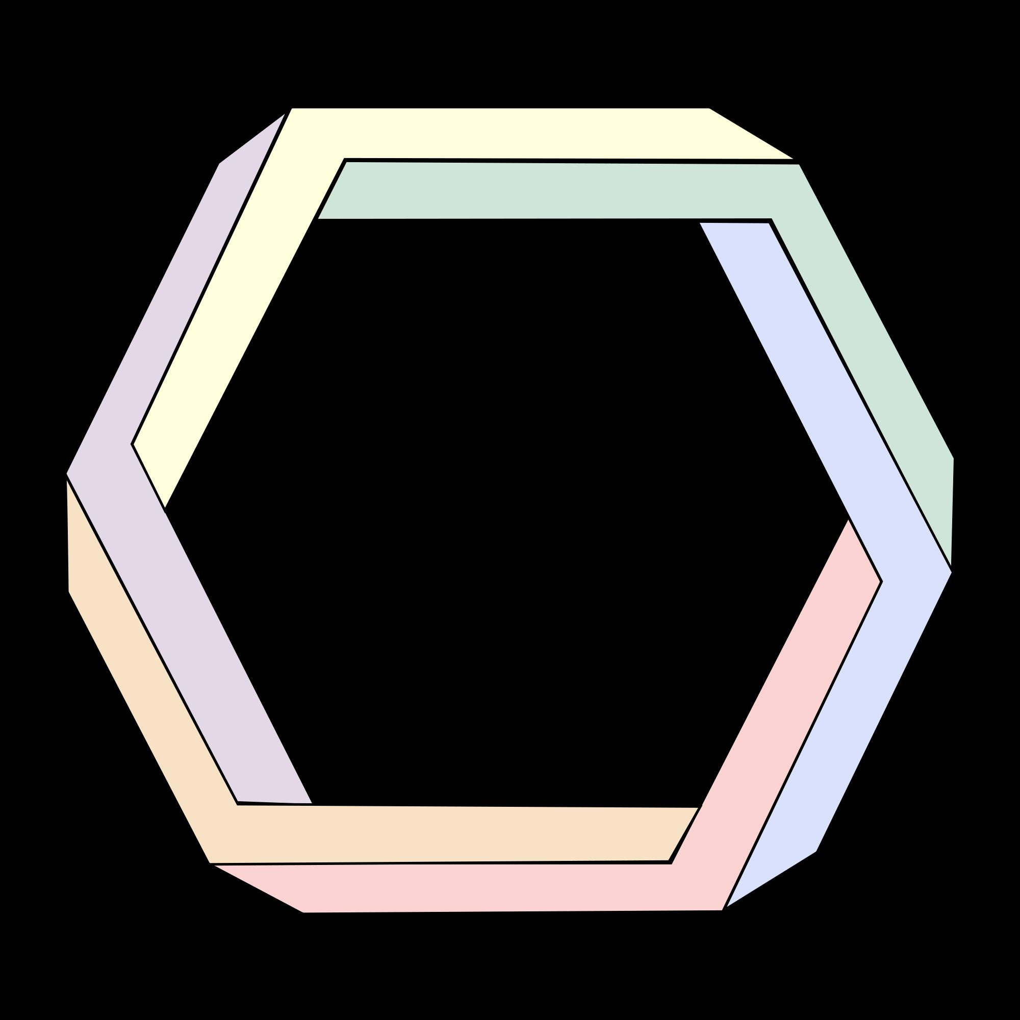 Hexagon svg #8, Download drawings