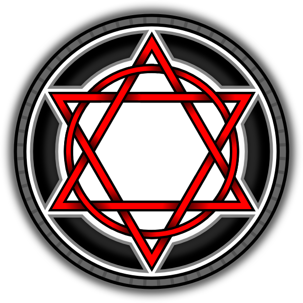 Hexagram clipart #2, Download drawings