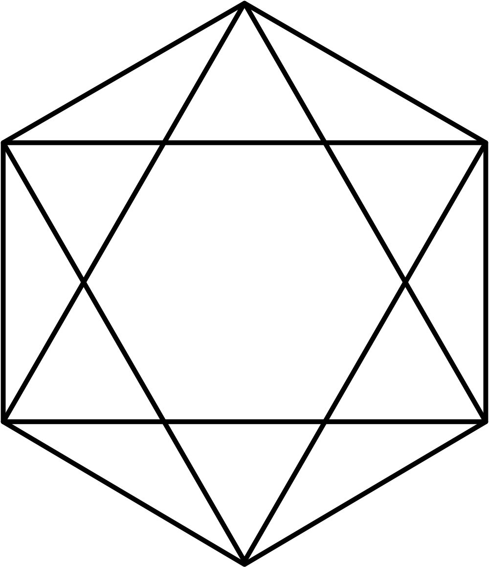 Hexagram clipart #7, Download drawings