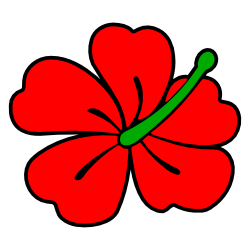 Hibisco clipart #9, Download drawings