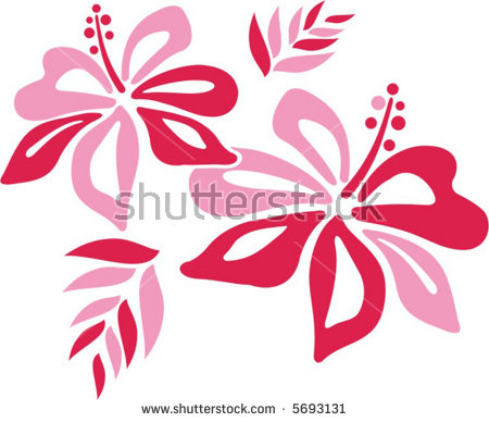 Hibiscus clipart #8, Download drawings