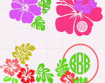 Hibiscus svg #1, Download drawings