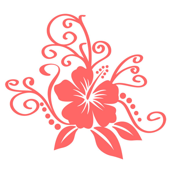 Hibiscus svg #4, Download drawings