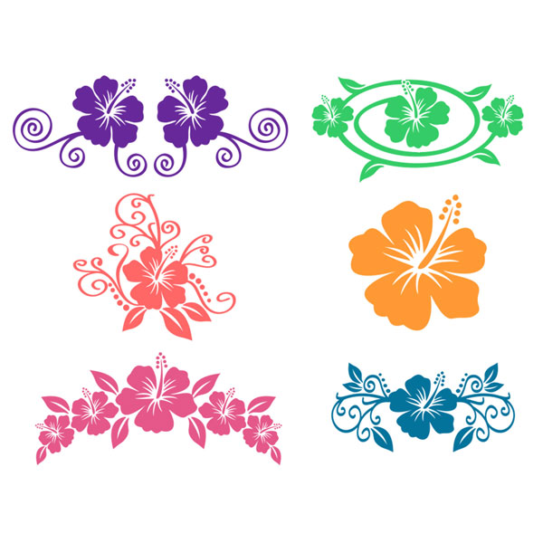 Hibiscus svg #18, Download drawings