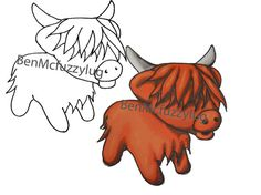 Highland Cattle clipart #8, Download drawings