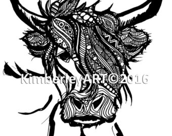 Highland Cattle clipart #10, Download drawings