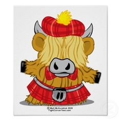 Highland Cattle clipart #1, Download drawings