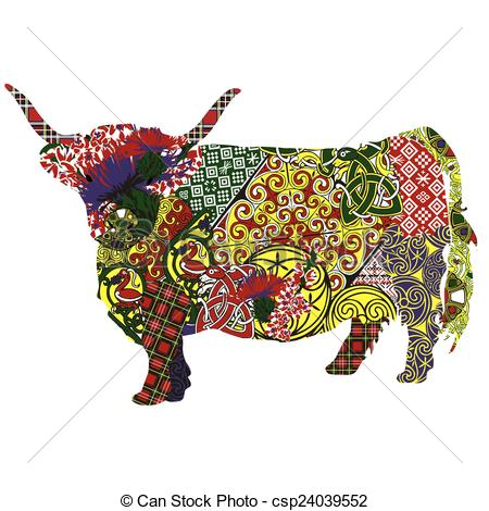 Highland Cattle clipart #18, Download drawings