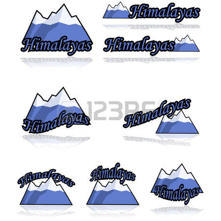 Himalaya Mountans clipart #4, Download drawings