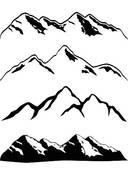 Himalaya Mountans clipart #5, Download drawings
