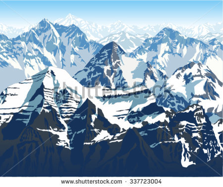 Himalaya Mountans clipart #10, Download drawings