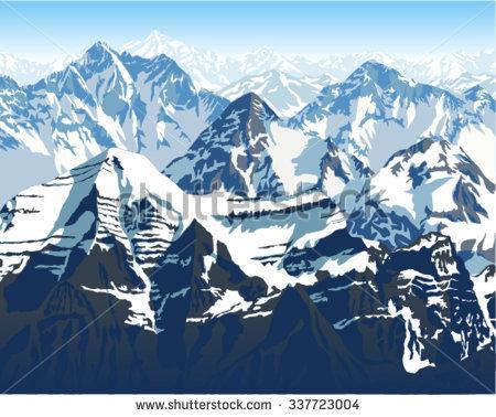 Himalaya Mountans clipart #11, Download drawings