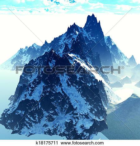 Himalaya Range clipart #1, Download drawings