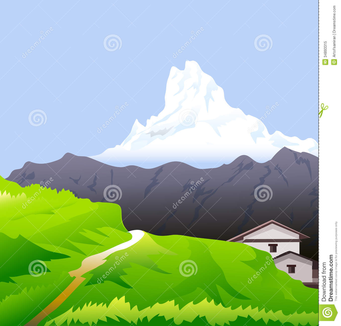 Himalaya clipart #10, Download drawings
