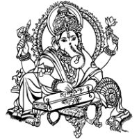 Hindu clipart #1, Download drawings