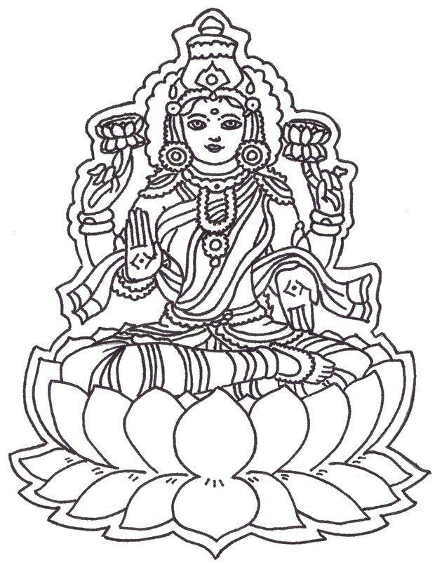 Hindu coloring #6, Download drawings