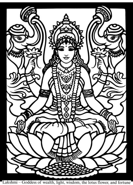 Hindu coloring #12, Download drawings