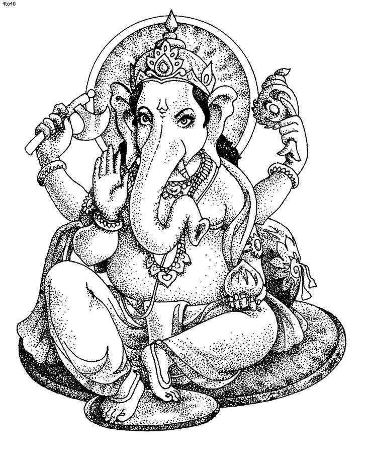 Hindu coloring #8, Download drawings