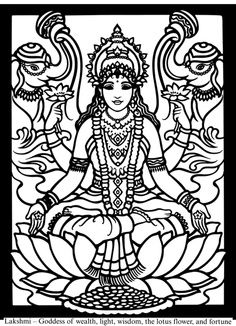 Hindu coloring #16, Download drawings