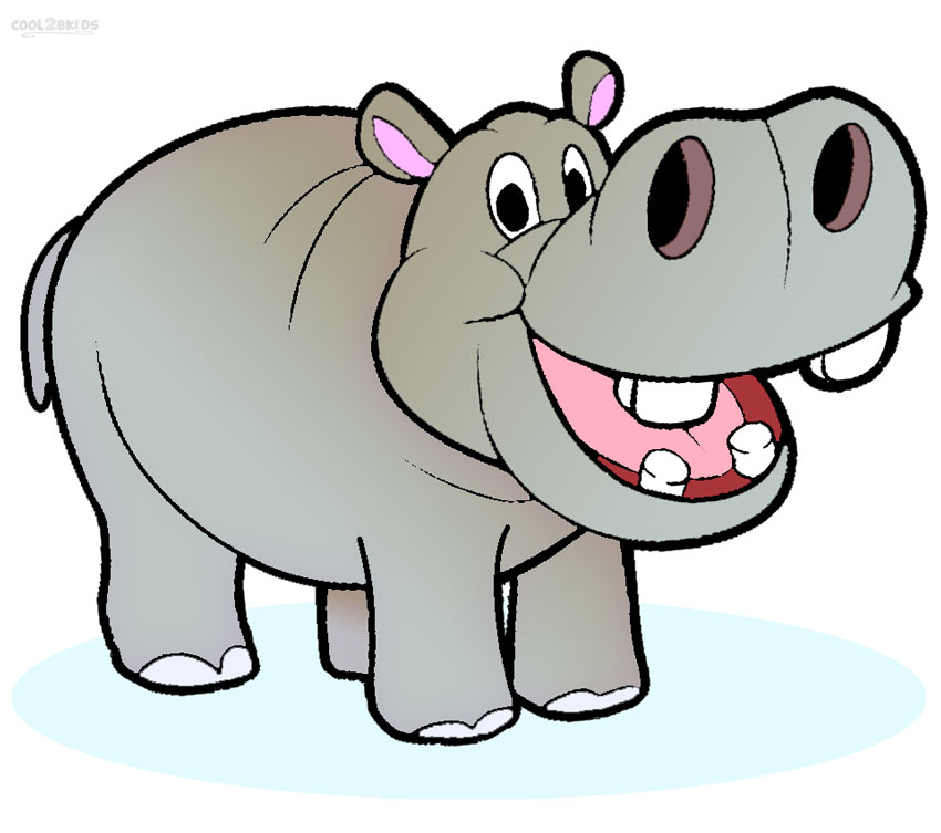 Hippo clipart #5, Download drawings