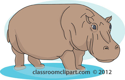 Hippo clipart #16, Download drawings