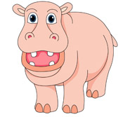 Hippo clipart #6, Download drawings