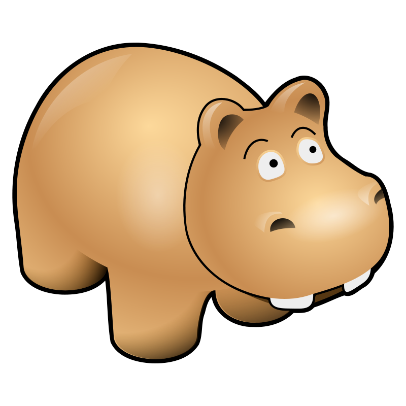 Hippo clipart #19, Download drawings