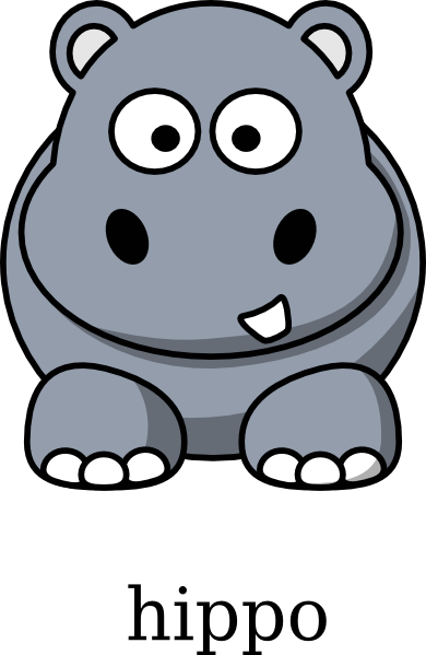 Hippo clipart #18, Download drawings