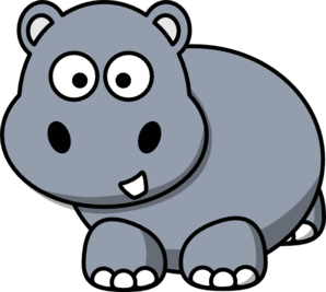 Hippo clipart #4, Download drawings