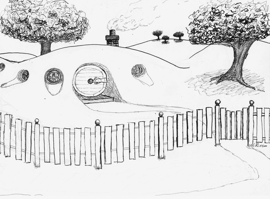 Hobbit coloring #19, Download drawings