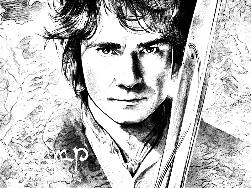 Hobbit coloring #10, Download drawings
