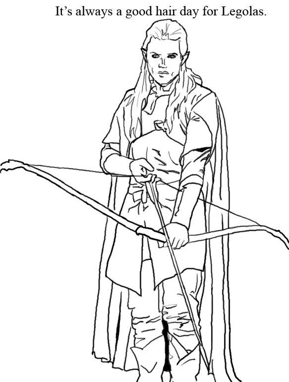 Hobbit coloring #7, Download drawings