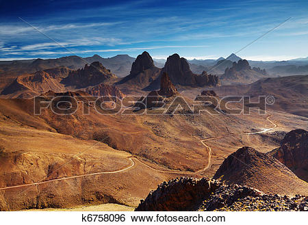 Hoggar Mountains clipart #17, Download drawings