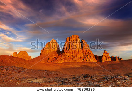 Hoggar Mountains coloring #8, Download drawings