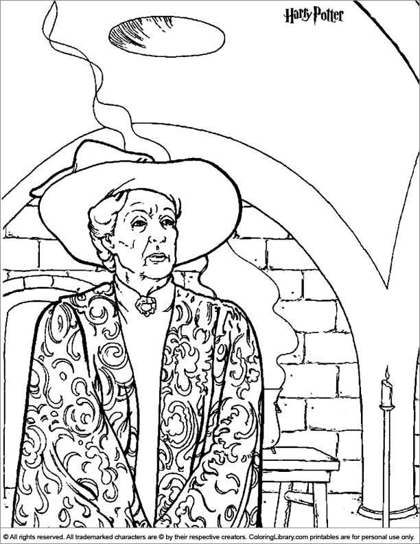 Hogwarts Castle coloring #5, Download drawings