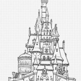 Hogwarts Castle coloring #10, Download drawings