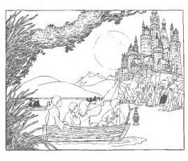 Hogwarts Castle coloring #9, Download drawings