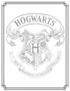 Hogwarts Castle coloring #3, Download drawings