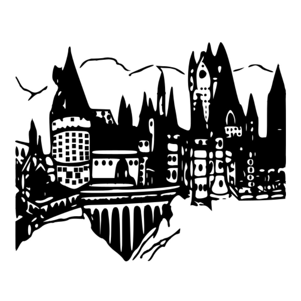 Hogwarts Castle svg #19, Download drawings