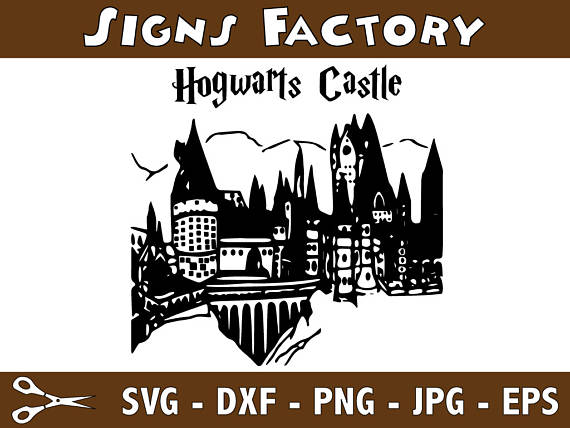 Hogwarts Castle svg #10, Download drawings