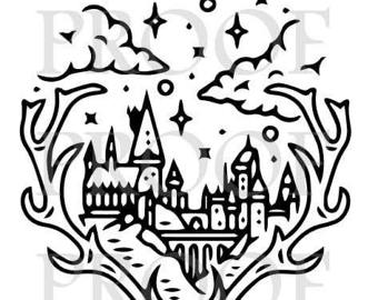 Hogwarts Castle svg #17, Download drawings