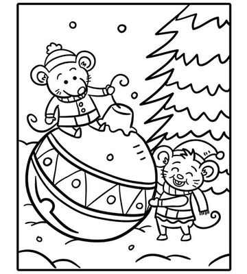 Holiday coloring #16, Download drawings