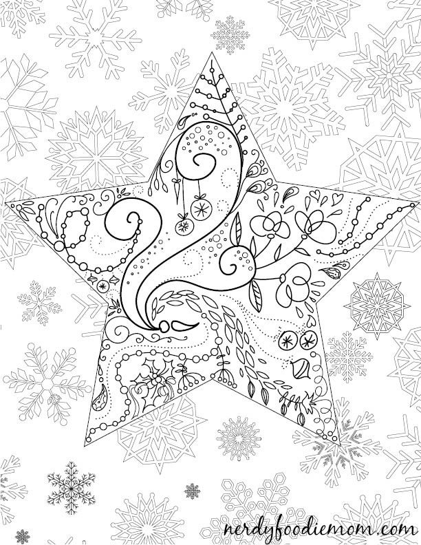 Holiday coloring #1, Download drawings